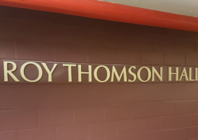 Roy Thompson Hall, Toronto